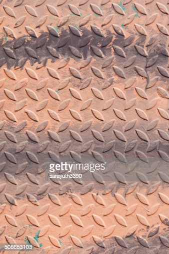 metal diamond plate ; abstract industrial background : Stock Photo