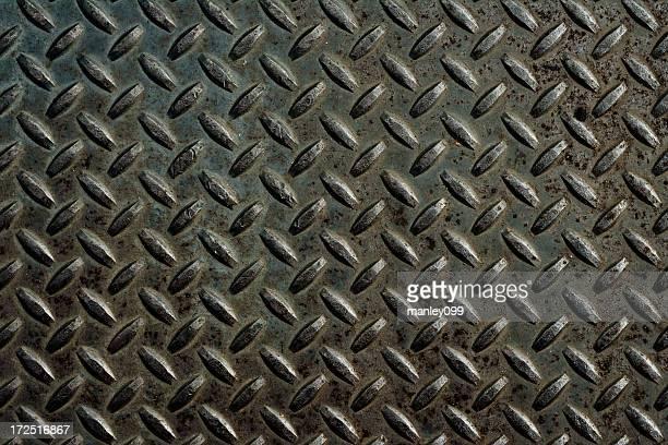メタルプレート XXL ダイアモンドカットアウトデザイン背景