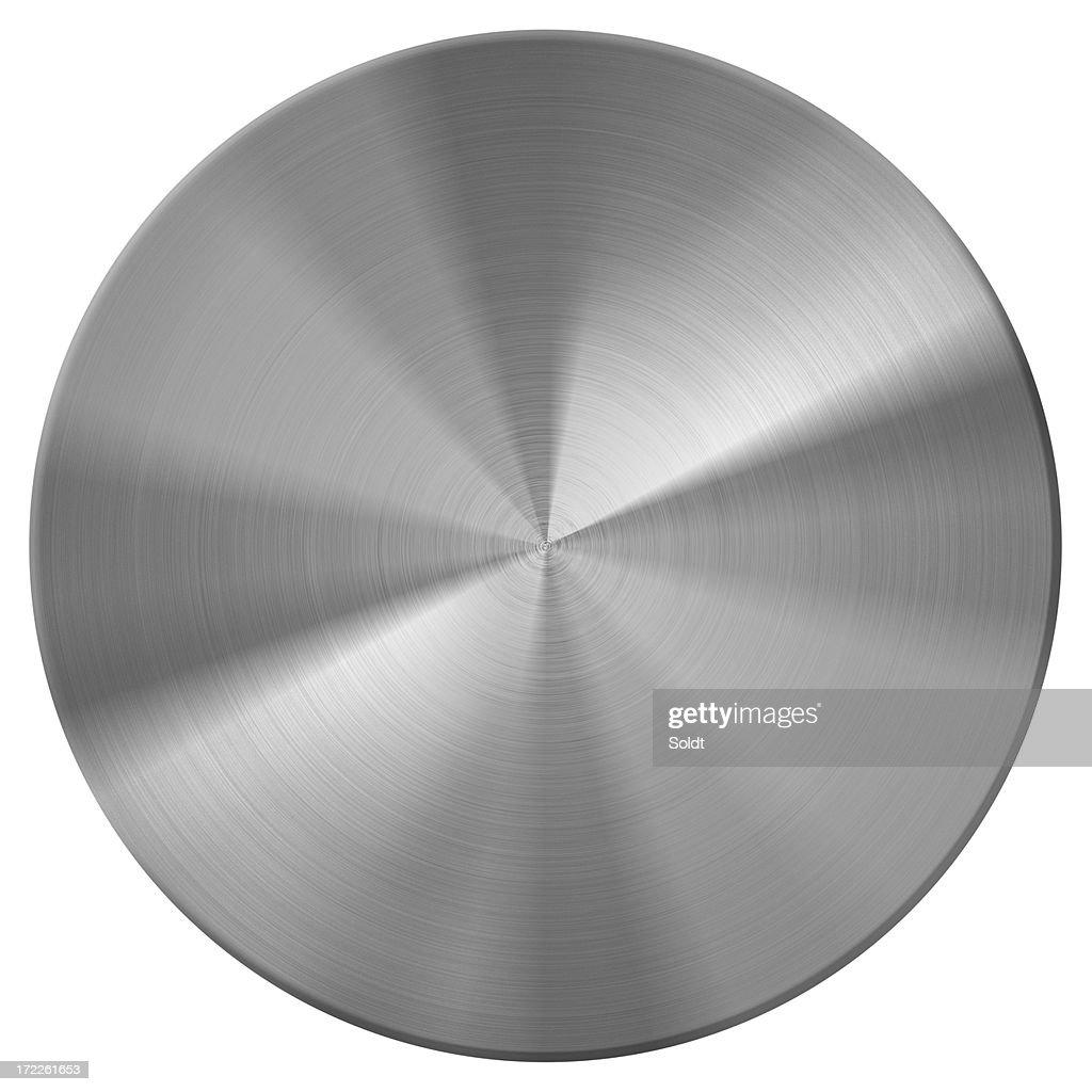 metal disc | button
