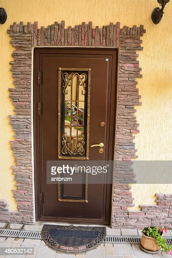 metal door : Stock Photo