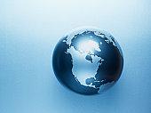 Metal globe
