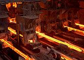 Hot Metallic Rods