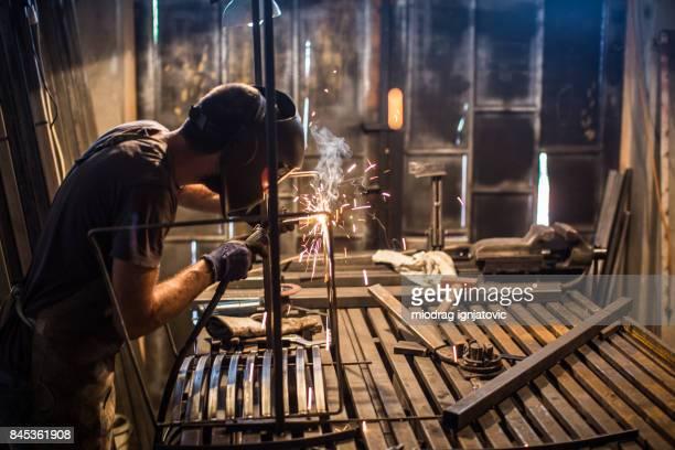 Metallindustrie-routine