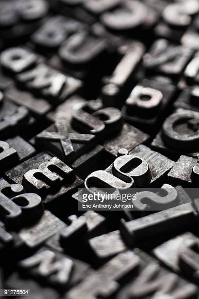 metal movable type
