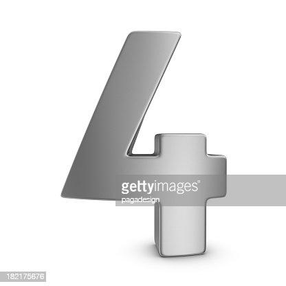 metal number 4