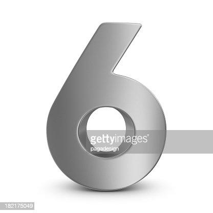 metal number 6