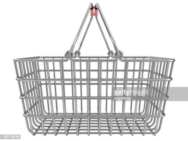 Metall shopping basket