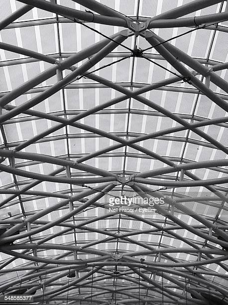 Metal Structure Above Ceiling