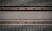 Metal textured background.Metal grip.
