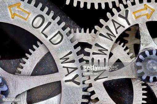 Metal Wheel Concept : Stock Photo