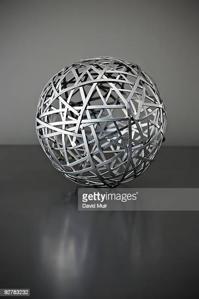 metal wire ball