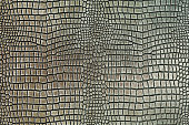 Metallic crocodile skin shape texture background