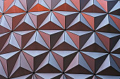 metallic geometric surface - abstract texture and background