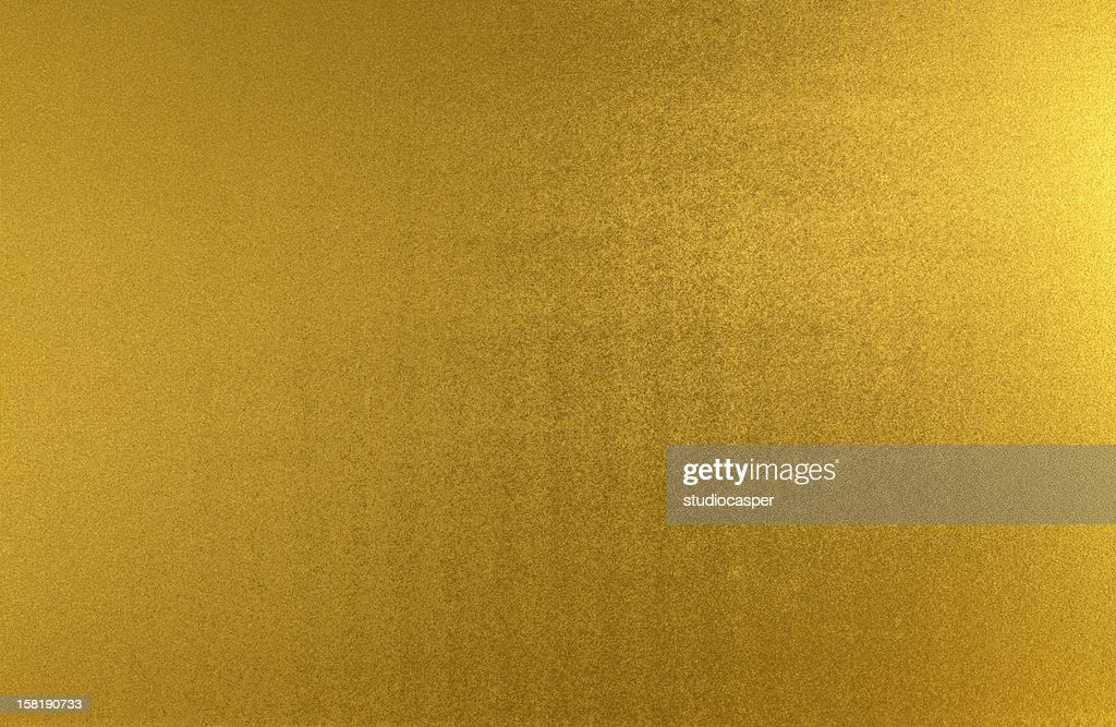 Metallic gold sheet with ripples