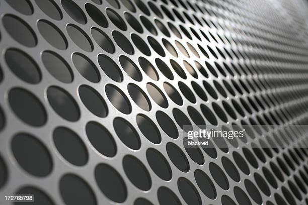 In Mesh metallizzata