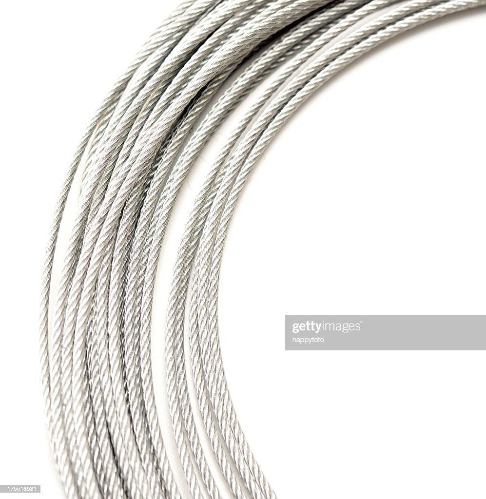 metallic rope