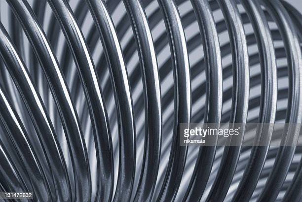 Metallic spiral (coil) in the form of a torus