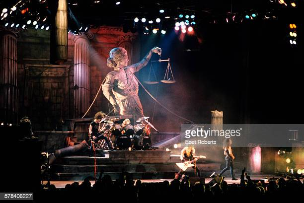 Metallica at the Brendan Byrne Arena in East Rutherford New Jersey on March 1 1989