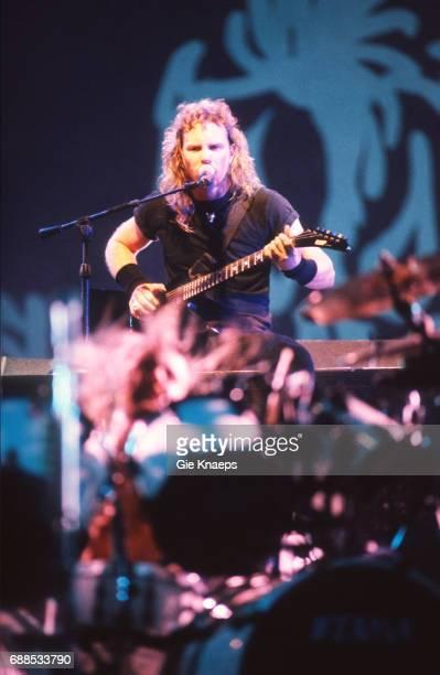Metallica James Hetfield Torhout/Werchter Festival Torhout Belgium
