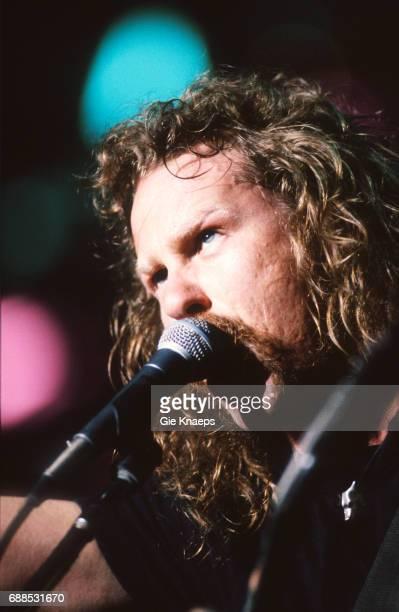 Metallica James Hetfield Torhout/Werchter Festival Werchter Belgium