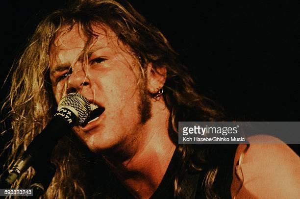 Metallica live at Shibuya Public Hall Tokyo November 1986