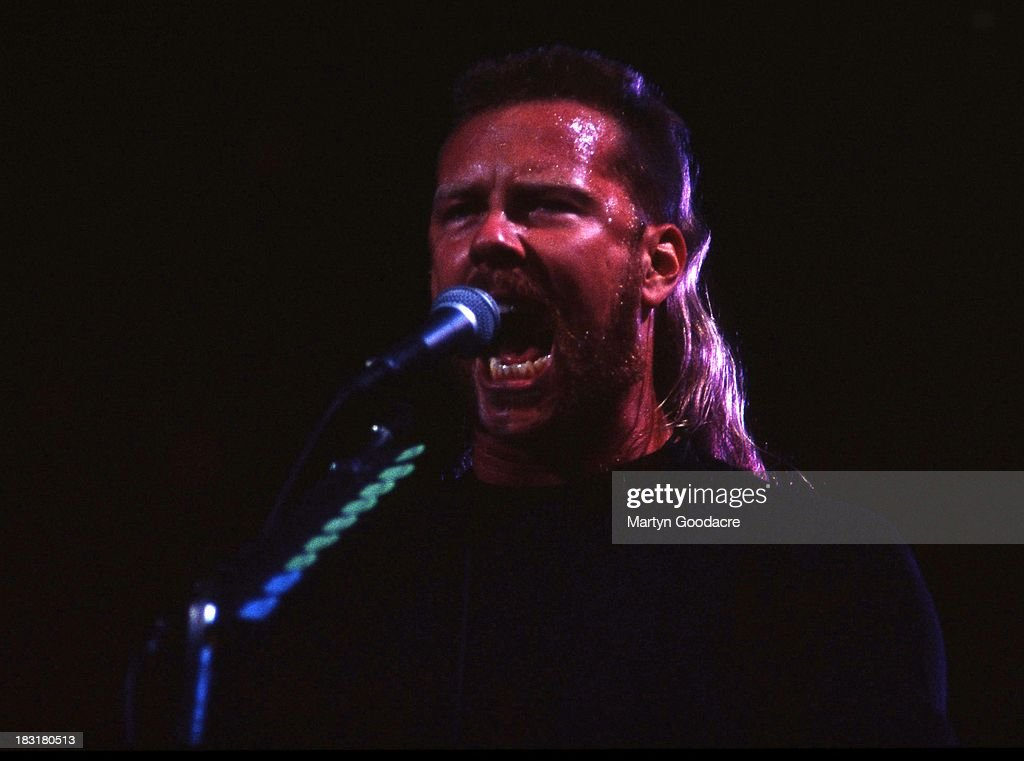 Metallica perform on stage at Monsters of Rock Donington Park United Kingdom 1995