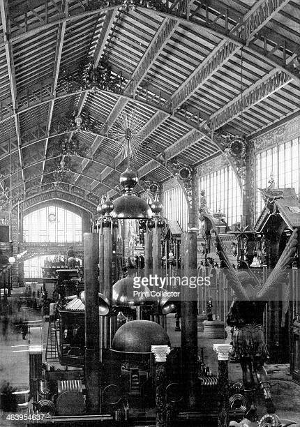 Metallurgy section Universal Exposition Paris 1889 The Exposition Universelle of 1889 was staged in commemration of the centenary of the French...