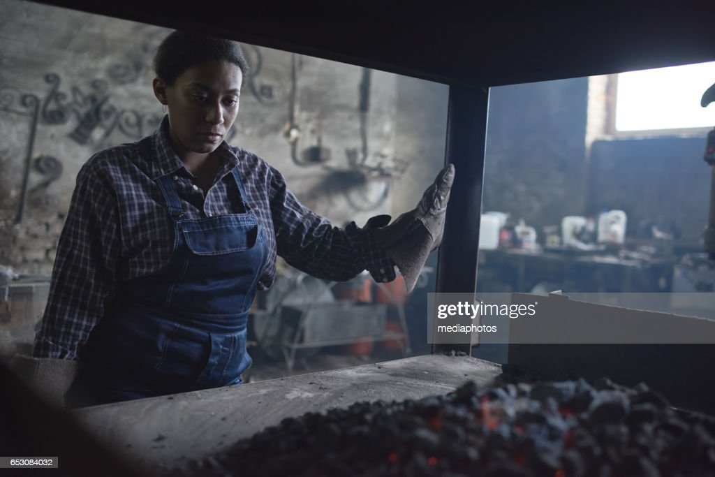 Metalworking occupation : Stock-Foto