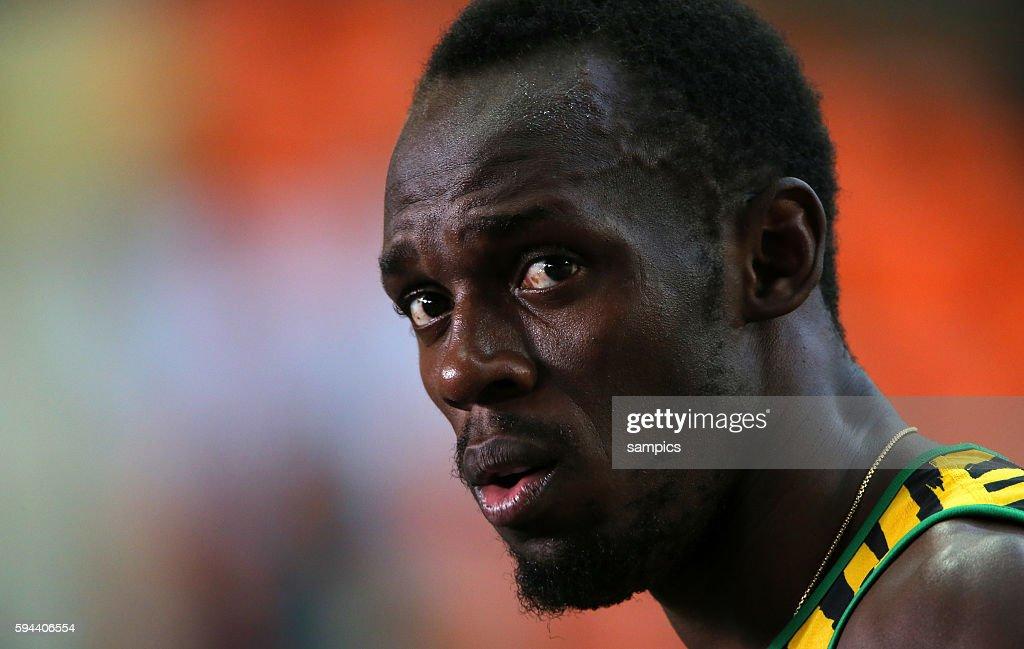 200 Meter Finale final world Champion Usain Bolt JAM Leichtathletik WM Weltmeisterschaft Moskau 2013 IAAF World Championships athletics moscow 2013...