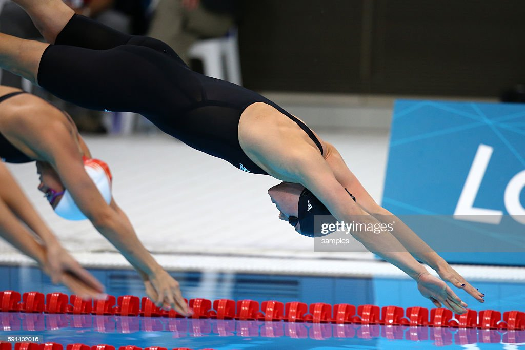200 meter FReestyle Silke Lippock GER Schwimmen Swimming Olympische Sommerspiele in London 2012 Olympia olympic summer games london 2012