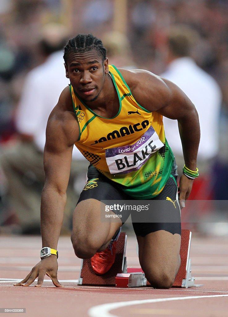 200 Meter men Yohan Blake JAM silber Leichtathletik athletics Olympische Sommerspiele in London 2012 Olympia olympic summer games london 2012
