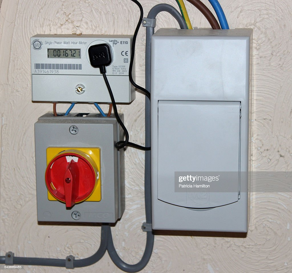 meter switch and fuse box for domestic solar panels picture id543689465 solar energy pictures getty images Electrical Swtich at reclaimingppi.co