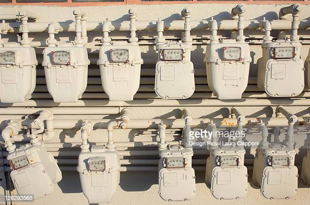 meters on a wall