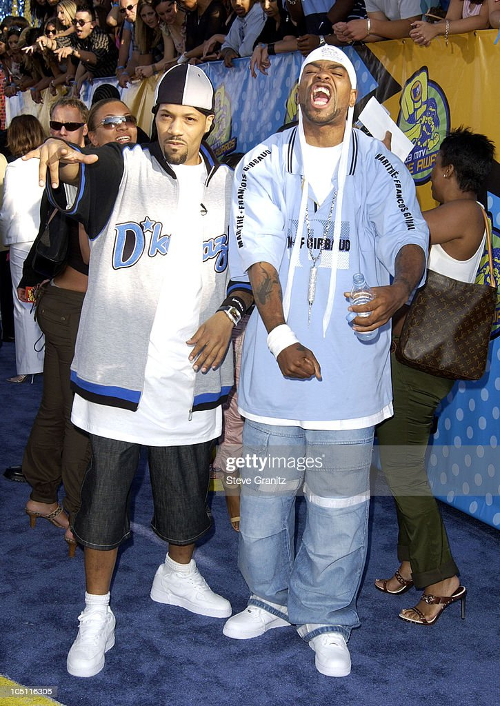 Method Man and RedMan during 2003 MTV Movie Awards Arrivals at The Shrine Auditorium in Los Angeles California United States