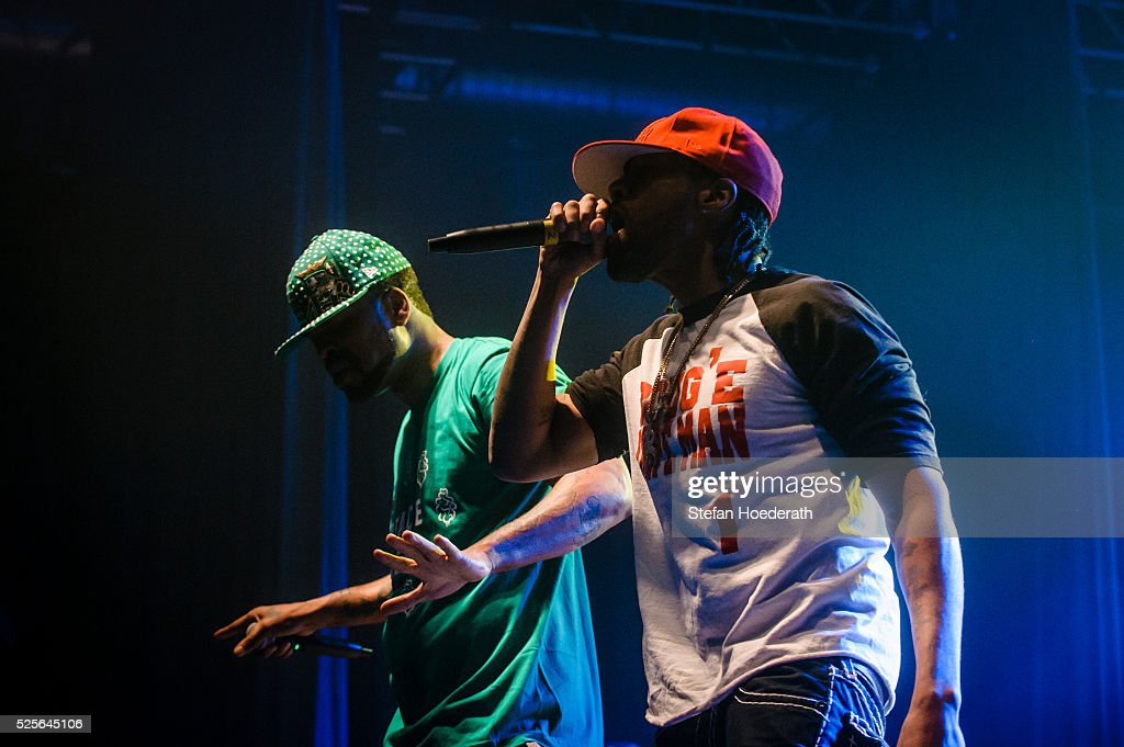 Method Man and Redman of Method Man & Redman perform live on stage during a concert at Huxleys Neue Welt on April 28, 2016 in Berlin, Berlin.