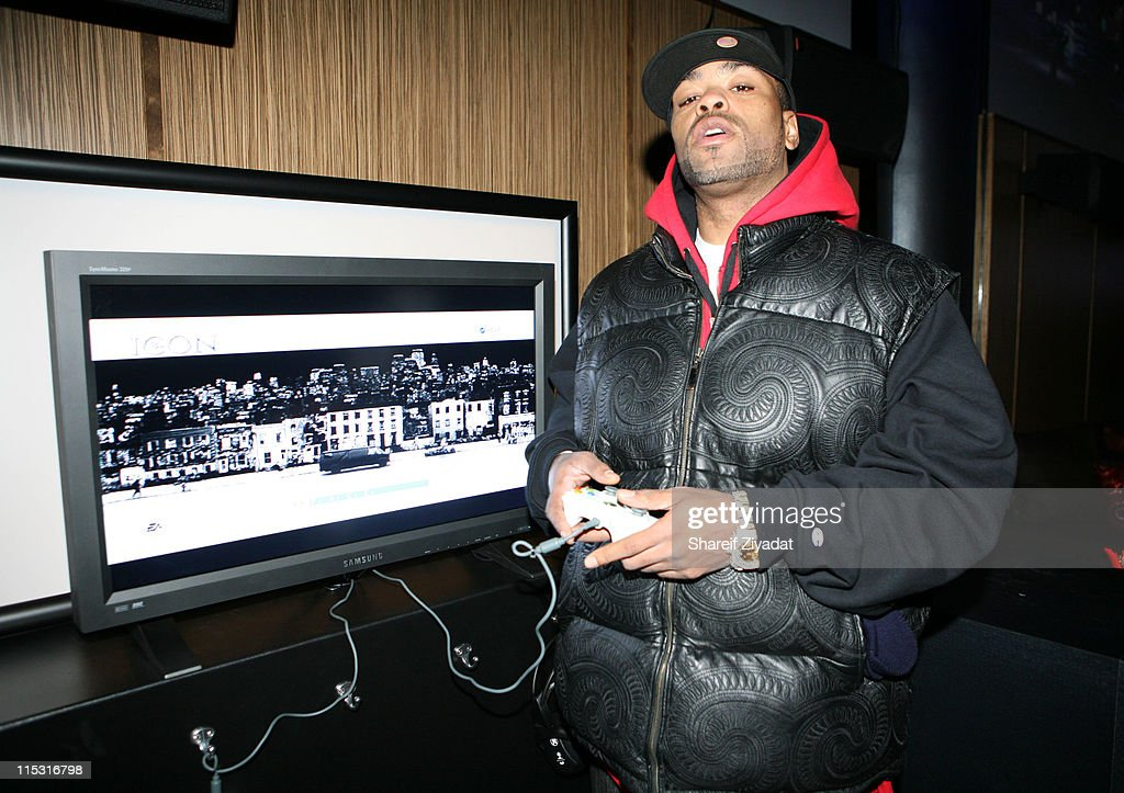 Method Man during Def Jam 'Icon' Launch Party at Ultra in New York United States