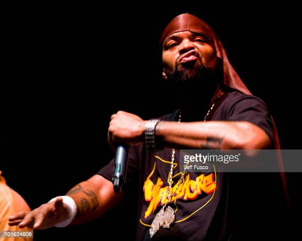 Method Man of The Wu Tang Clan performs at the 3rd Annual Roots Picnic at the Festival Pier on June 5 2010 in Philadelphia Pennsylvania