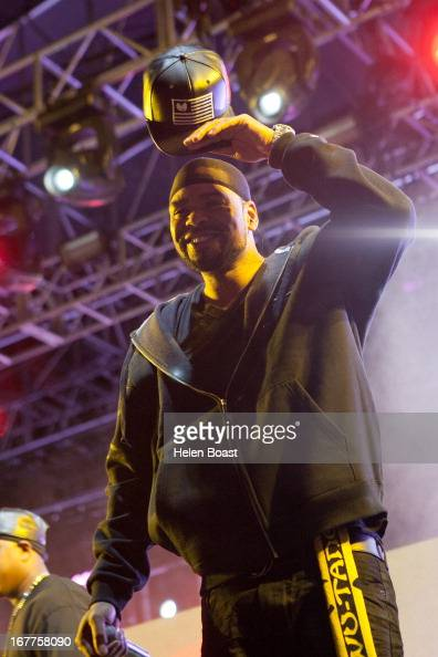 Method Man of The Wu Tang Clan performs on stage at 2013 Coachella Music Festival on April 21 2013 in Indio California