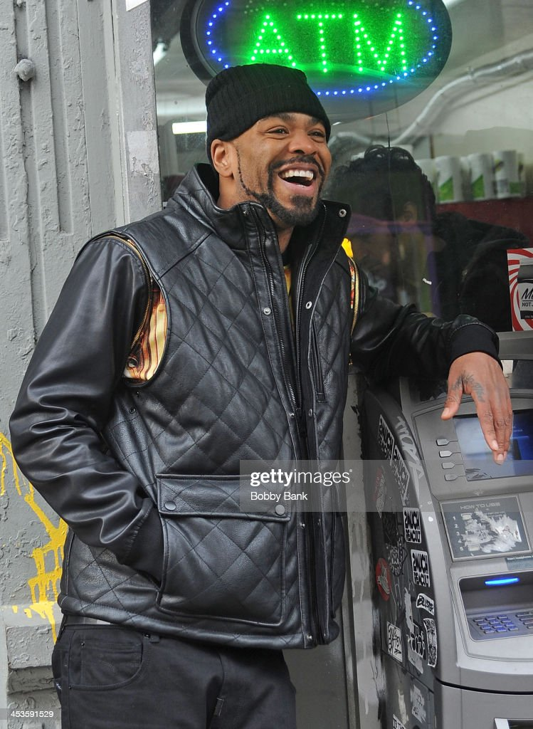 Method Man on the set of 'The Cobbler' on December 4 2013 in New York City