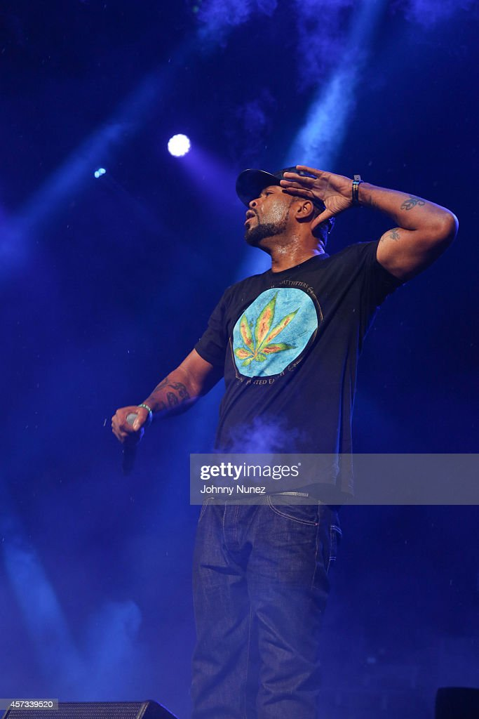 Method Man performs during Def Jam Recordings 30th Anniversary Concert at Barclays Center of Brooklyn on October 16 2014 in New York City