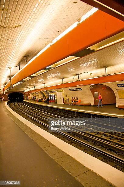Metro station, Denfert-Rochereau, Paris, France
