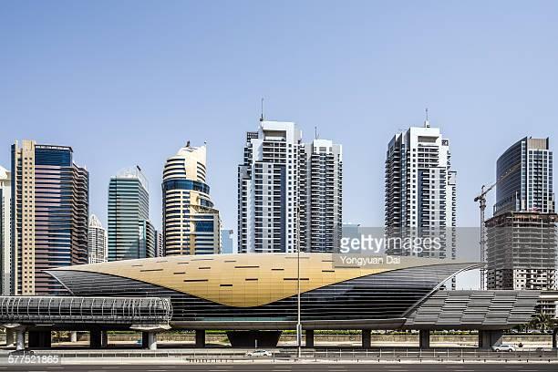Metro Station in Dubai