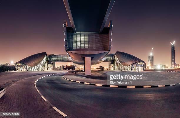Metro station in the desert