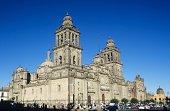 Metropolitan cathedral zocalo mexico