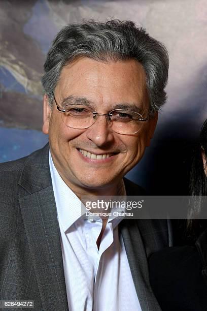 Metropolitan Filmexport Victor Hadida attends the 'Quelques Minutes Apres Minuit' Paris Premiere at UGC Cine Cite des Halles on November 29 2016 in...