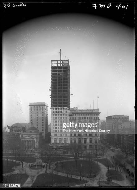 Building Construction Insurance : Metropolitan life insurance photos et images de collection