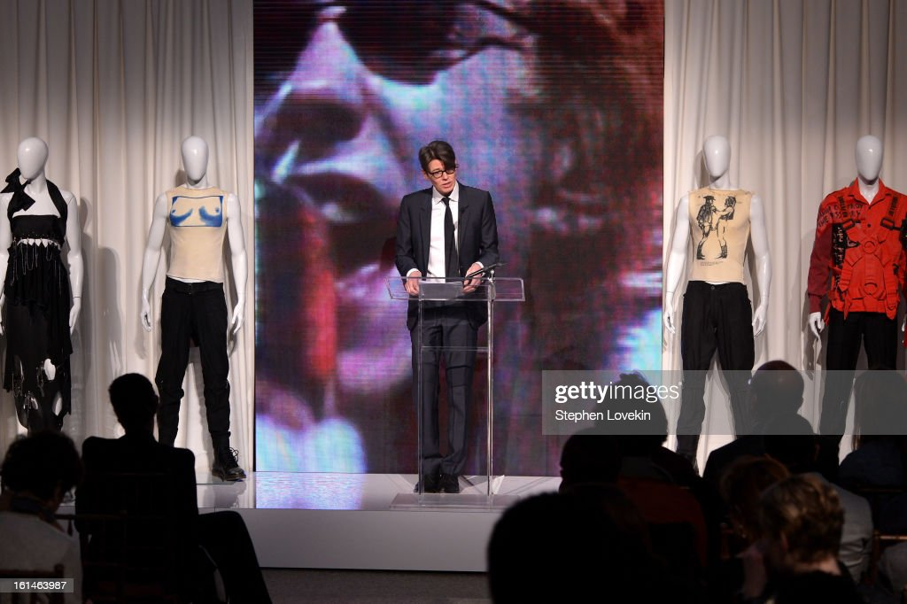 Metropolitan Museum of Art curator Andrew Bolton attends the