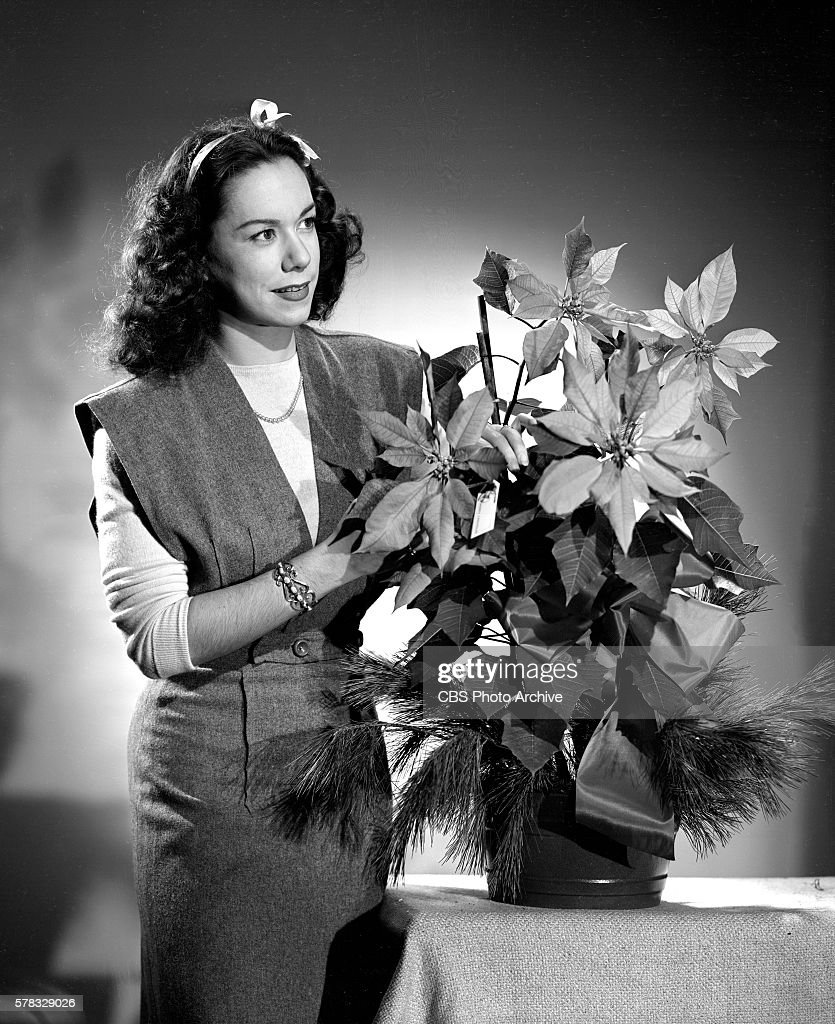Metropolitan Opera soprano Patrice Munsel during a fashion photo session New York NY Image dated December 1 1944