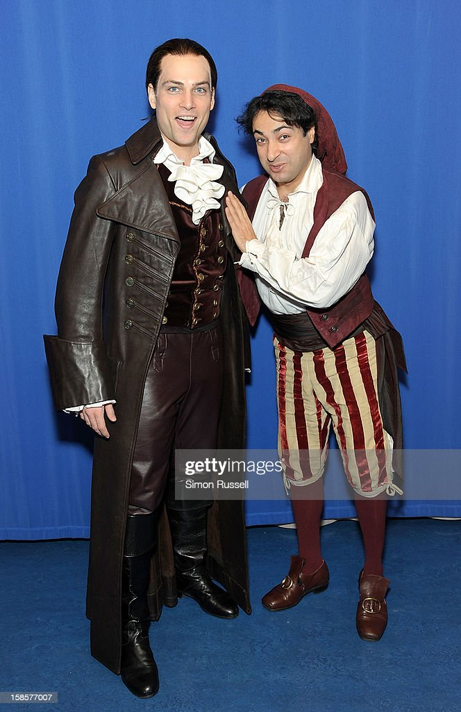 Metropolitan Opera stars Alek Shrader and Rodion Pogossov perform 'The Barber Of Seville' at the Kravis Children's Hospital at Mount Sinai Medical Center on December 19, 2012 in New York City.