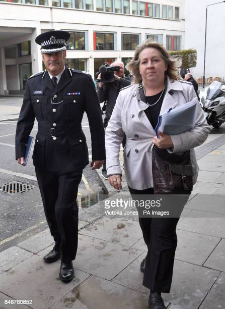 Metropolitan Police Commander Stuart Cundy arriving for the Grenfell Tower public inquiry in central London where Sir Martin MooreBick is delivering...